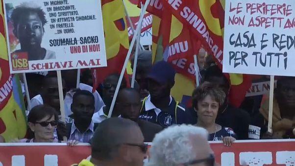 سومايلا ساكو: الآلاف من الإيطاليين في شوارع روما