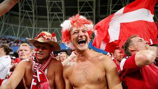 Сборная Дании обыграла команду Перу со счетом 1:0
