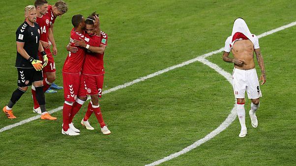 Dánia legyőzte Perut