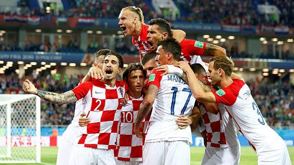 Futball-vb: sima horvát győzelem Nigéria ellen