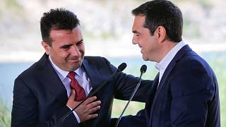 Greece and FYR Macedonia sign historic deal aimed at resolving a long-running name dispute