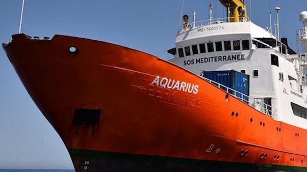 Megérkezett az Aquarius Valenciába
