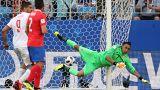 Sırbistan tarihinde ilk kez karşılaştığı Kosta Rika'yı 1-0 ile geçti