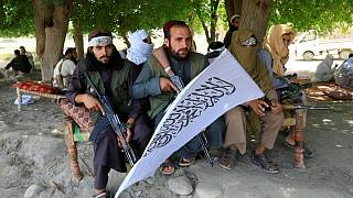 Taliban gather to celebrate ceasefire in Ghanikhel