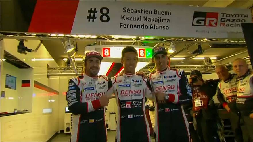 Fernando Alonso gana junto a Toyota las 24 horas de Le Mans