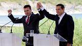 Namensstreit: Griechenland und Mazedonien unterzeichnen Abkommen