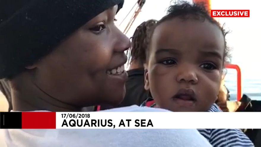 Ocho días en el Aquarius: rumbo al puerto de la cordura