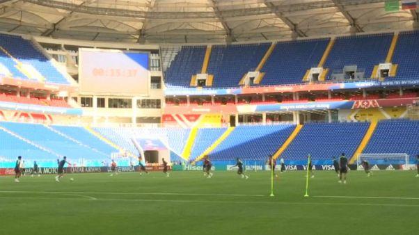 Mondiali: scende in campo il Brasile