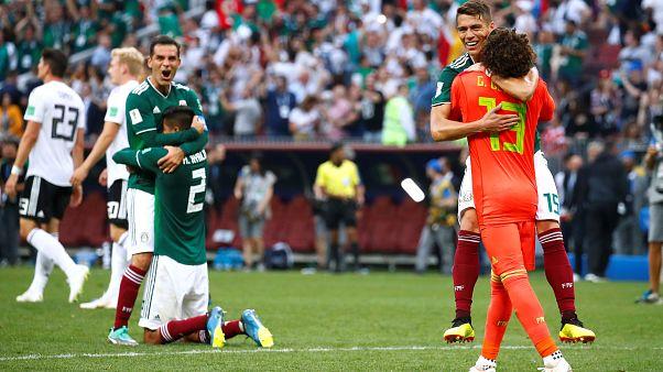 Dünya Kupası'nda büyük sürpriz: Meksika Almanya'yı devirdi