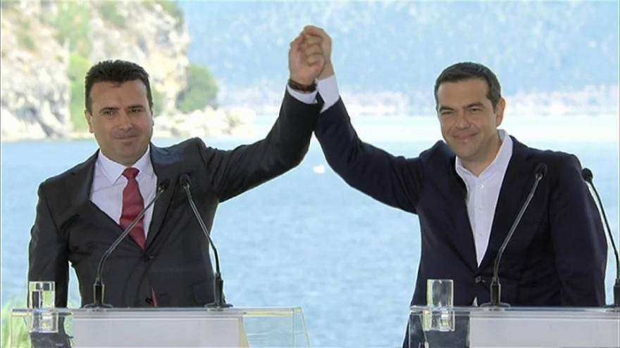 Skopie y Atenas sellan un acuerdo histórico