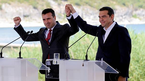 Grécia e Macedónia assinam o acordo histórico sobre nome da antiga república Jugoslava