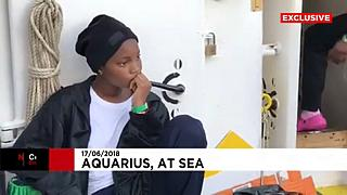 Η «Οδύσσεια» των 630 μεταναστών του Aquarius