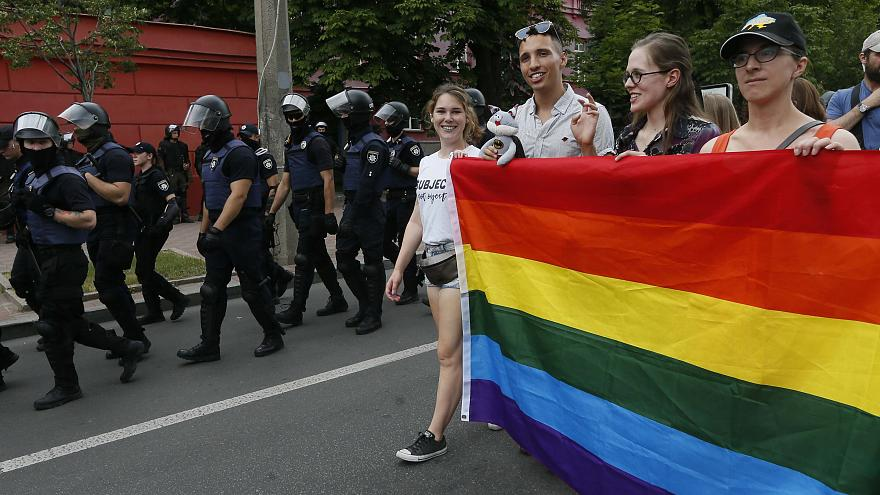 """""""Марш равенства"""" в Киеве: парад и задержания"""