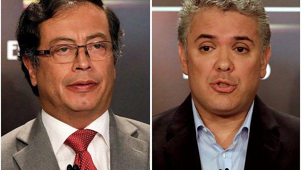 Colombia al voto: sfida Petro-Duque