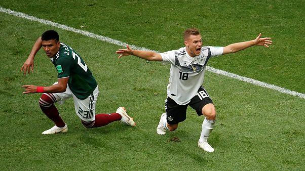 جام جهانی روسیه؛ آلمان از مکزیک شکست خورد