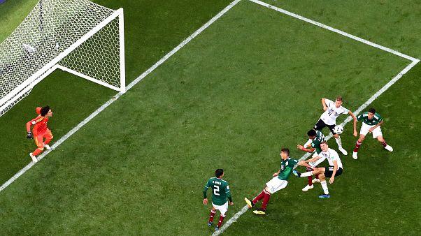 La todopoderosa Alemania cae ante México (0-1)