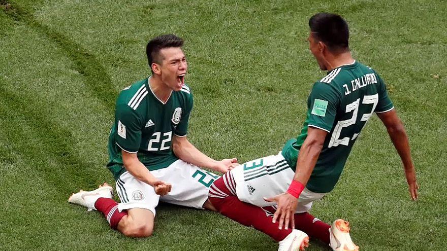 Мексика победила Германию