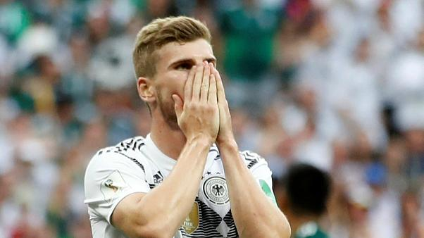 Enttäuschung über die Niederlage gegen Mexiko.