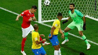 Dünya Kupası: Brezilya'ya İsviçre çelmesi: 1-1