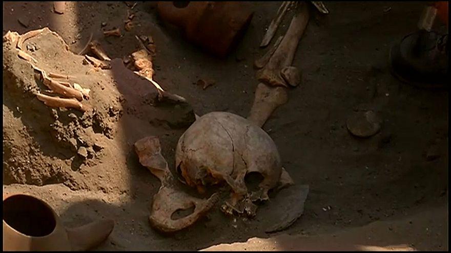 Descubren en Perú el mayor sacrificio infantil del mundo