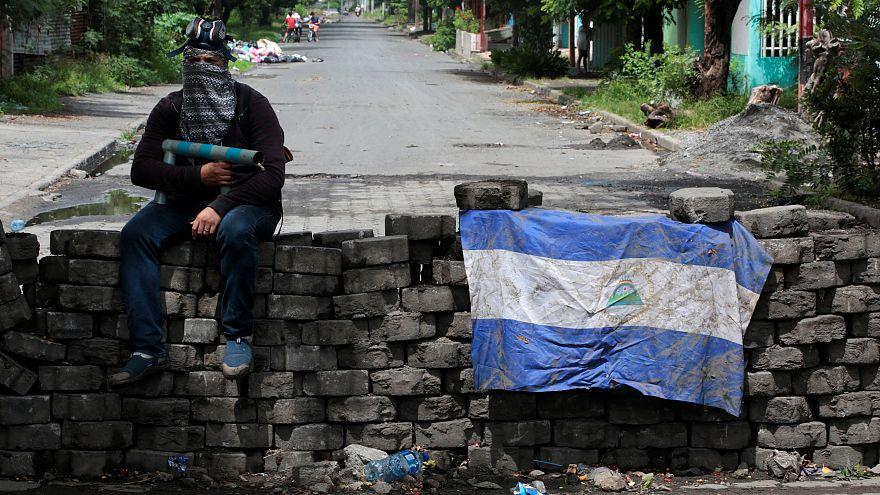 """""""Si nos quitamos de aquí nos matan"""", frases al pie de barricadas en Nicaragua"""