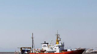 Το τέλος της «οδύσσειας» του πλοίου Aquarius