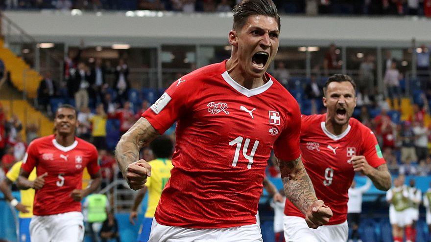 Suíça estraga festa ao Brasil e impõe empate 1-1