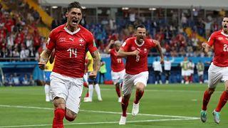 Svájc pontot rabolt Brazíliától