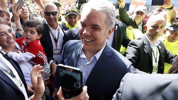 El candidato uribista Iván Duque es elegido presidente de Colombia