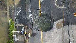 Földrengés volt Oszakában