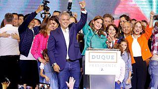 ایوان دوکه، نامزد راستگرا برنده انتخابات ریاست جمهوری کلمبیا شد