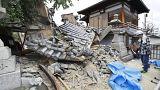 Três mortos e 200 feridos em sismo em Osaca