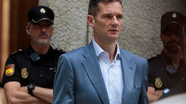 Iñaki Urdangarin entra en la cárcel de Brieva, en Ávila