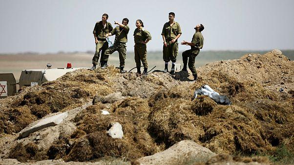 İsrail: Gazze'de Hamas'a ait 9 nokta vuruldu