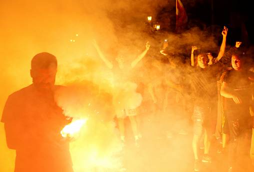 Protestos violentos em Skopje contra novo nome da Macedónia