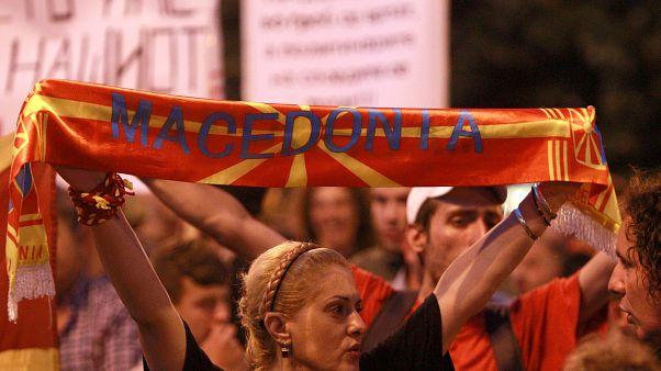 Los nacionalistas macedonios, en pie de guerra