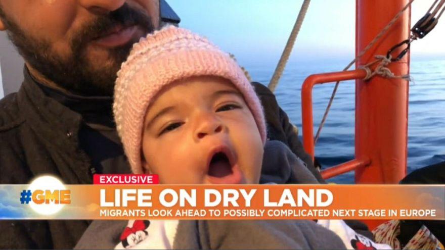 Watch: Aquarius migrants reach European soil - but what next?
