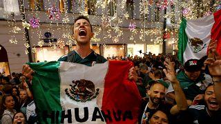 La afición mexicana activa los sensores de terremotos tras la victoria en el Mundial