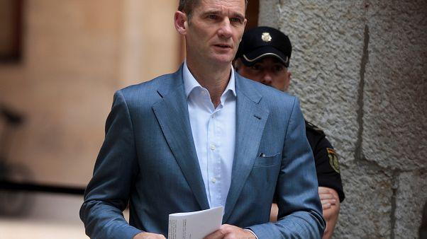 Cunhado do rei de Espanha inicia pena de prisão
