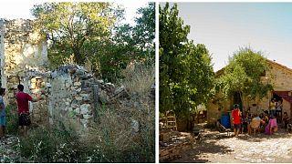 Condamnés à de la prison après avoir reconstruit Fraguas, un village espagnol abandonné