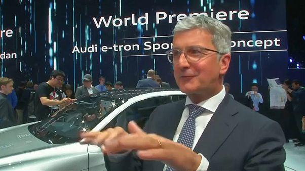 Verdunklungsgefahr: Audi-Chef Stadler wegen Diesel-Affäre in U-Haft