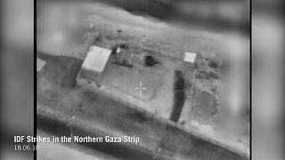 Razzi da Gaza, bombardamenti israeliani sui palestinesi