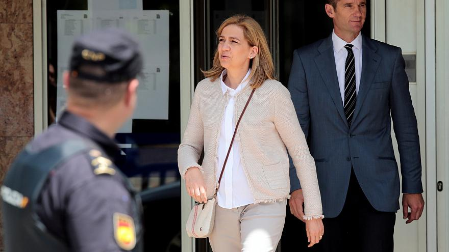 Inaki Urgdangarin with Princess Cristina