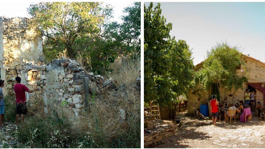 Újjáépítették az elhagyott falut, ezért letartóztatták őket