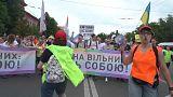 خمسة آلاف من المثليين في مسيرة وسط كييف يعارضها اليمين المتطرف