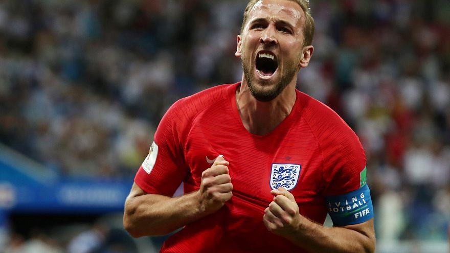 Russia 2018: Uragano-Kane, l'Inghilterra piega la Tunisia
