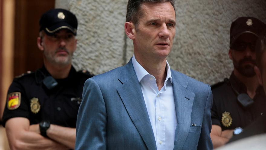 Spanish King's brother-in-law chooses to do time in women's prison