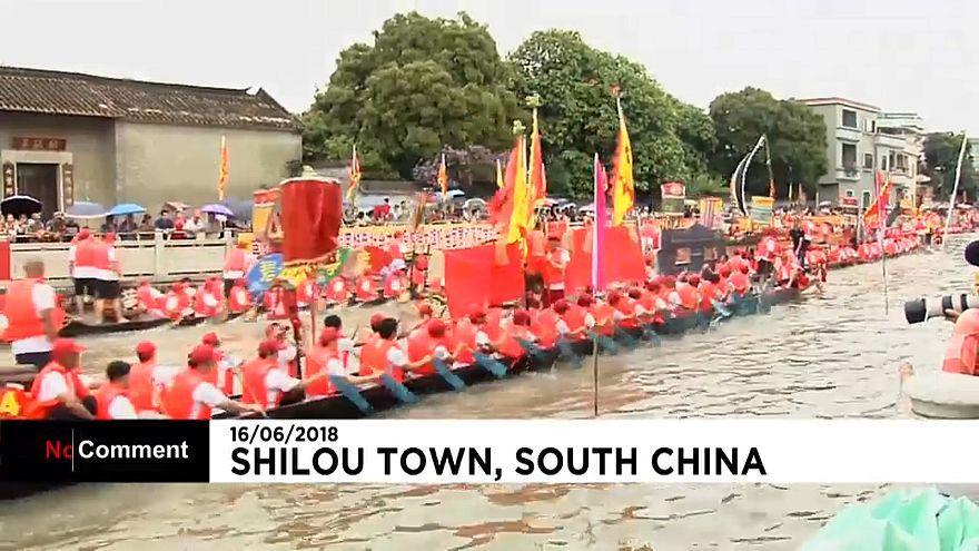 Le Festival du Bateau-Dragon bat son plein en Chine