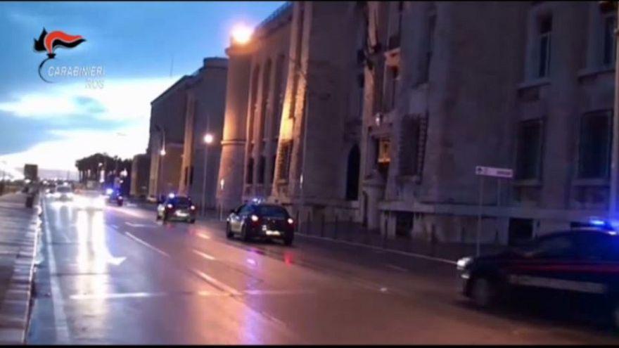 İtalyan polisi mafyaya karşı 'Pandora'nın kutusunu' açtı