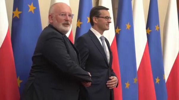 Weiter verhärtete Fronten zwischen Brüssel und Warschau